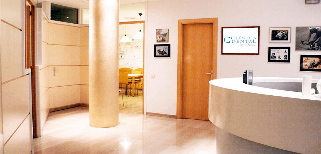 Recepció de la nostra clínica dental Aymerich Manresa
